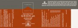 Зелена алкализираща смес от суперхрани - 40 г, Terra Nova,  40 г