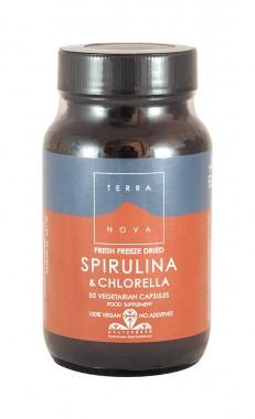 Спирулина и хлорела - 50 капсули