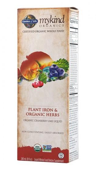 Растително течно желязо с билки - био - 240 мл