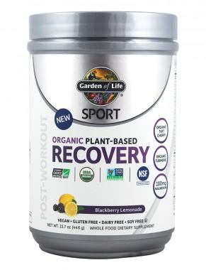 Разтворима спортна напитка за възстановяване - къпинова лимонада - 446 г