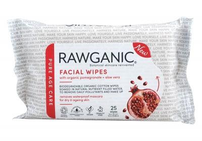 Почистващи мокри кърпички за лице - 25 бр