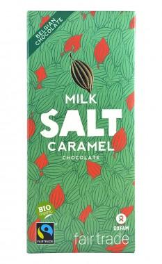 Млечен шоколад Солен карамел - био - 100 г