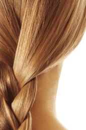 Билкова боя за коса - слънчево русо