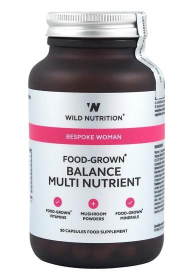 Мултивитамини и минерали за жени - 90 капсули, Wild Nutrition,  90 бр