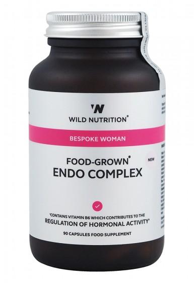 Ендо комплекс за жени - 90 капсули, Wild Nutrition,  90 бр