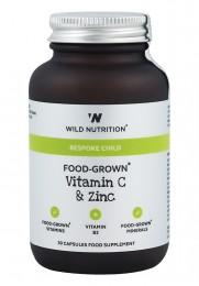 Витамин С и цинк за деца - 30 капсули