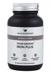 Комплекс Желязо плюс - 30 капсули, Wild Nutrition,  30 бр