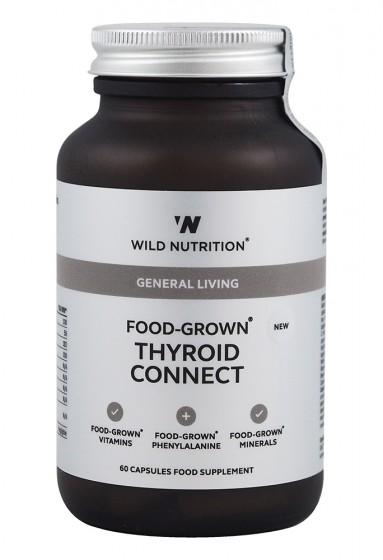 Комплекс Щитовидна жлеза - 60 капсули, Wild Nutrition,  60 бр