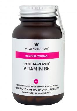 Food-Grown® Vitamin B6 - 60 capsules