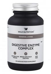 Комплекс Храносмилателни ензими Digezyme - 90 капсули, Wild Nutrition,  90 бр