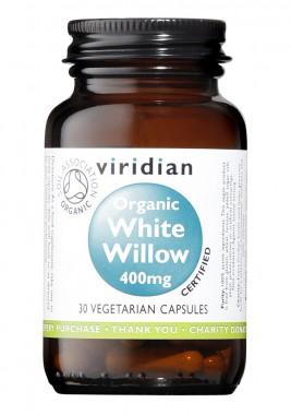 Органична бяла върба 400 мг - 30 капсули