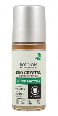 Кристален рол-он дезодорант Green Matcha - био - 50 мл