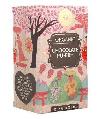 Шоколадов пу-ър - органичен чай - 20 бр