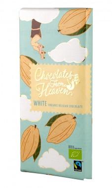 Бял белгийски шоколад - био - 100 г