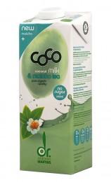 Кокосово мляко с матча - био - 1 л