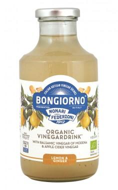 """Напитка с балсамов оцет """"Лимон и джинджифил"""" - био - 500 мл"""