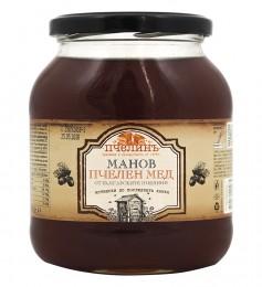 Натурален манов мед - 900 г, Пчелинъ,  900 г