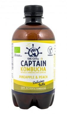 Kombucha Pineapple Peach Splash - organic - 400ml