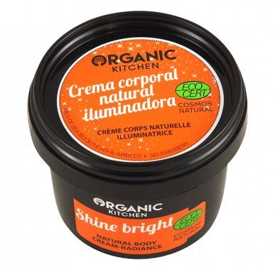 Natural Body Cream - Shine Bright - 100ml