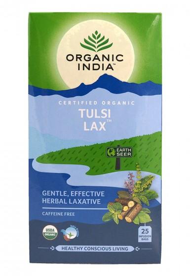 Чай Тулси - Лаксатив - био, Organic India,  25 бр