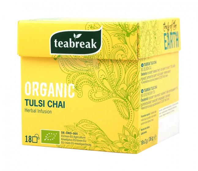 Билков чай с тулси - био - 18 бр