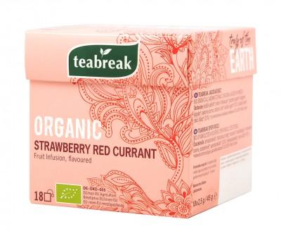 Плодов чай ягода и френско грозде - био - 18 бр
