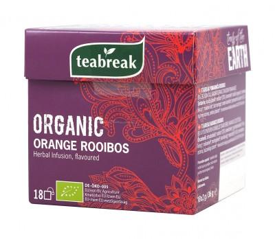 Билков чай с ройбос и портокал - био - 18 бр