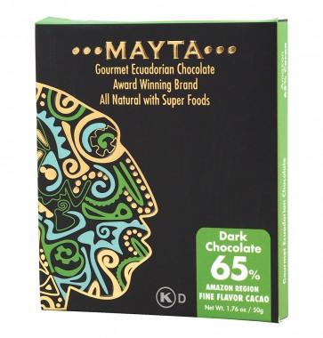 Тъмен гурме шоколад 65% - Amazon - 50 г