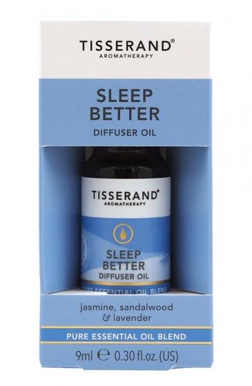 "Арома комбинация за дифузер ""Хубав сън"" - 9 мл, Tisserand® Aromatherapy,  9 мл"