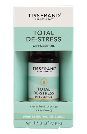 "Арома комбинация за дифузер ""Без стрес"" - 9 мл, Tisserand® Aromatherapy,  9 мл"