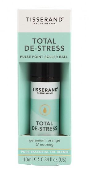 "Рол-он с етерични масла ""Без стрес"" - 10 мл, Tisserand® Aromatherapy,  10 мл"