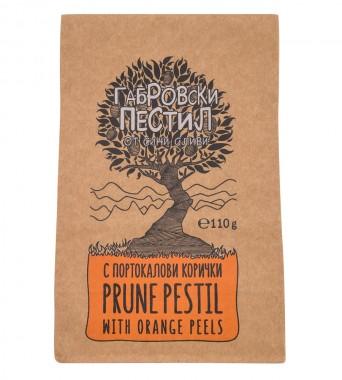 Габровски пестил от сини сливи - портокалови кори - 110 г