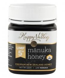 Мед от манука UMF5+ - 250 г, Happy Valley,  250 г