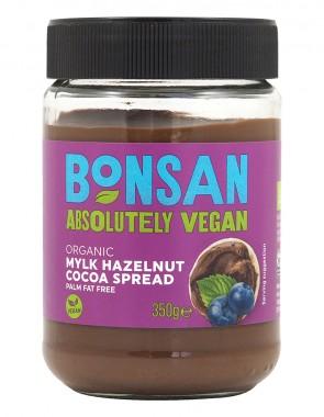 Лешниково-шоколадова паста - био - 350 г