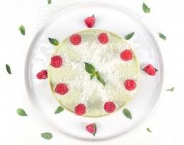 """Торта """"Малиново мохито"""" - 8 / 12 парчета,  8 бр,  12 бр"""