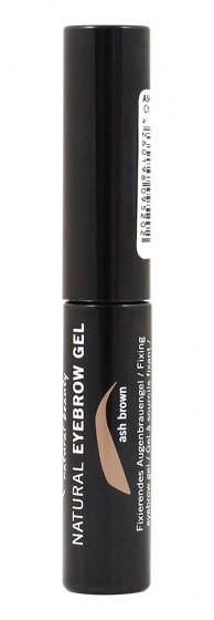 Фиксиращ гел за вежди - Ash Brown - био - 3 мл, Benecos,  3 мл