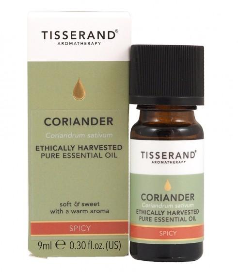 Етерично масло от кориандър - 9 мл, Tisserand® Aromatherapy,  9 мл