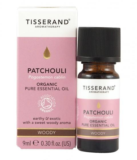 Био етерично масло от пачули - био - 9 / 30 мл, Tisserand® Aromatherapy,  9 мл,  30 мл