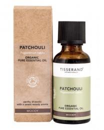 Organic Patchouli Essential Oil - 9 / 30ml, Tisserand® Aromatherapy,  9 ml,  30 ml