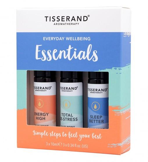 "Рол-он комплект с етерични масла ""Ежедневна грижа"" - 3 бр., Tisserand® Aromatherapy,  1 бр"