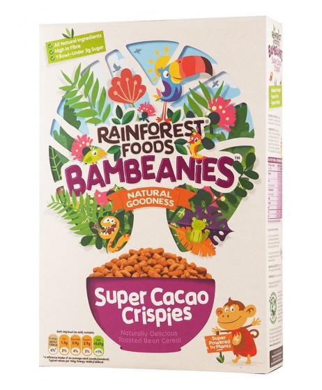 Хрупкави безглутенови топчета с какао - 350 г, Rainforest Foods,  350 г