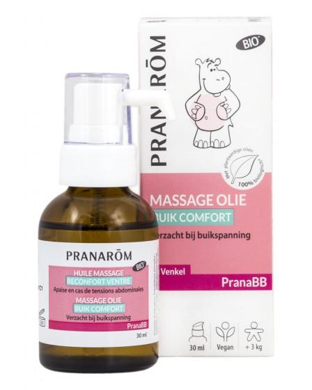 Бебешко масажно масло против колики - 15 мл, Pranarom,  15 мл