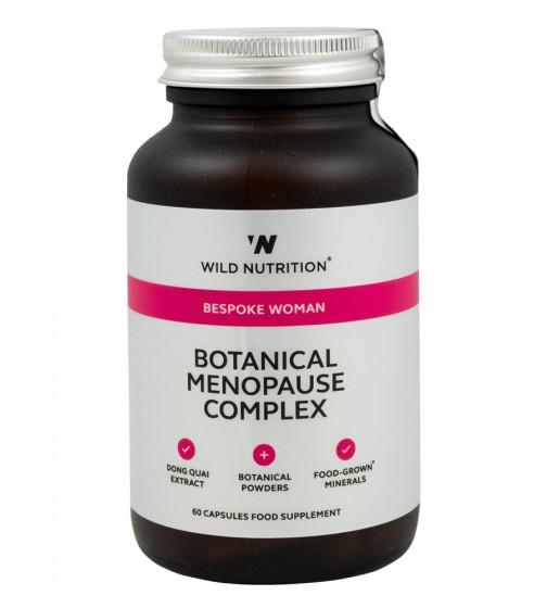 "Растителен комплекс за жени ""Менопауза"" - 60 капсули, Wild Nutrition,  60 бр"