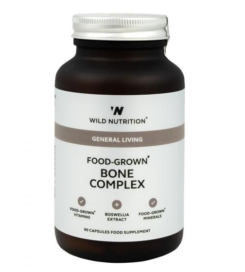 """Комплекс """"Здрави кости"""" - 90 капсули, Wild Nutrition,  90 бр"""