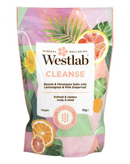 Английска и хималайска сол с етерични масла - Пречистване - 1 кг, Westlab,  1 кг