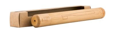 Бамбукова кутия за четка за зъби