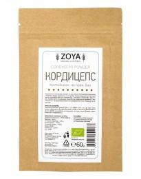 Кордицепс на прах - био - 60 г, ZoyaBG ®,  60 г