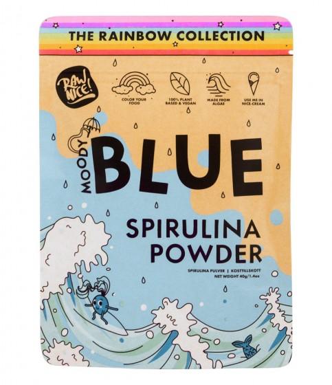 Синя спирулина на прах - 40 г, Rawnice,  40 г