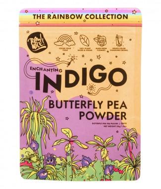 Цветове от пеперуден грах (син чай) на прах - 50 г