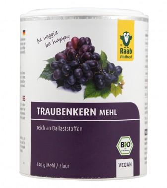 Брашно от гроздови семки - био - 140 г